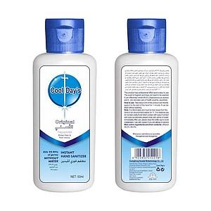 Cestovní dezinfekční gel na ruce s mátou - 50 ml