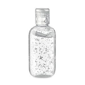 Čisticí gel na ruce v PET lahvičce, kterou lze znovu naplnit, s uzávěrem, 100 ml