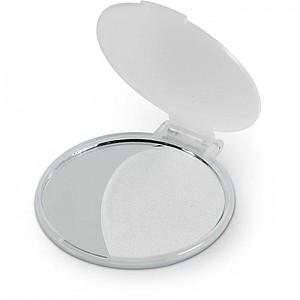 Kosmetické zrcátko, transparentní bílá