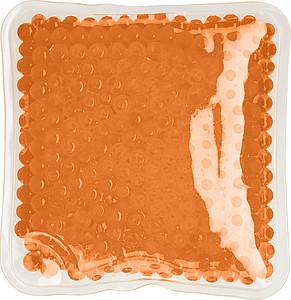 DODO Chladící i hřejivý polštářek, čtverec, oranžový ručníky s potiskem