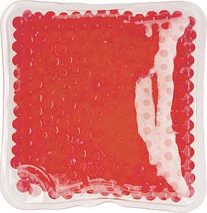 DODO Chladící i hřejivý polštářek, čtverec, červený