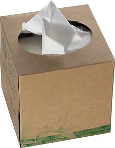 Papírové kapesníčky v krabičce
