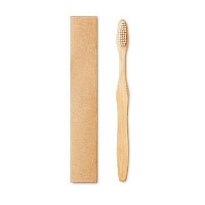 Bambusový kartáček na zuby, bílý