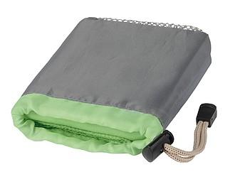 Vysoce absorpční ručník z mikrovlákna v sáčku, zelený