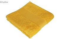 Economy osuška 70x140 cm, 100 % bavlna, 360 g/m2, žlutá