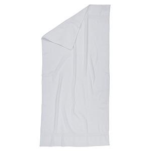 Bavlněný plážový ručník, bílá