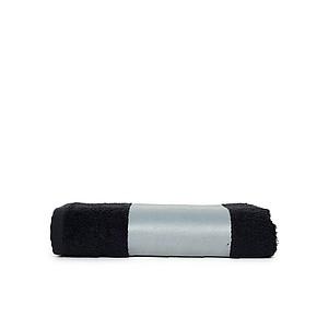 froté ručník pro sublimaci 50x100 cm, 400g, černá