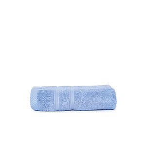 ONE BAMBOO Ručník z bambusového vlákna a bavlny značky The One, 50x100 cm, 600g, sv. král. modrá