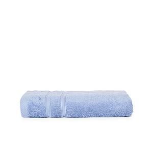 ONE BAMBOO Osuška z bambusového vlákna a bavlny značky The One, 70x140 cm, 600g, sv. král. modrá ručníky s potiskem