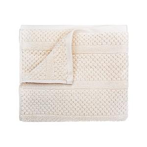 SPRING Set luxusních ručníků se zdobeným vetkáváním 60x110 a 30x50 cm, 600g, lososová