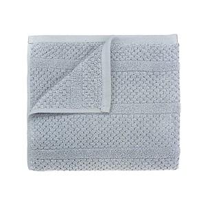 SPRING Set luxusních ručníků se zdobeným vetkáváním 60x110 a 30x50 cm, 600g, šedá