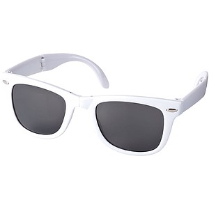 BOLARUS Skládací sluneční brýle, bílá