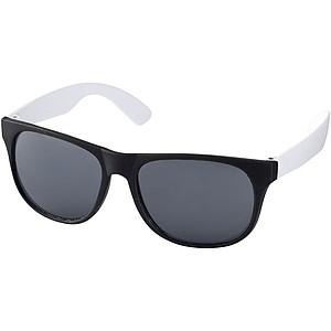 BYNAUS Plastové sluneční brýle, bílá