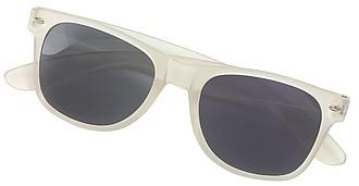 Sluneční brýle, UV 400, bílé