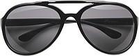 SHERA Sluneční brýle dodávané ve stahovacím pytlíku, černé