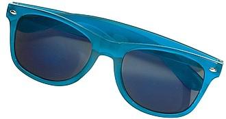OLIVAR Sluneční brýle se zrcadlovými skly, UV400, modré