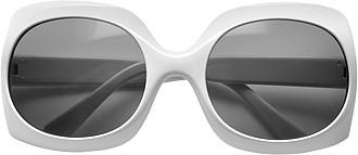 Sluneční brýle s UV400, bílé