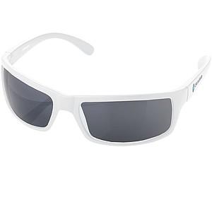 Sluneční brýle v plátěném obalu, bílá