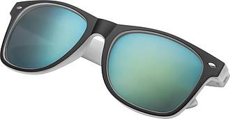 Sluneční brýle, UV400, černo bílé