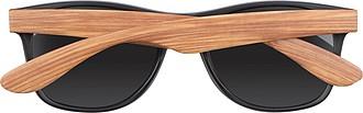 DROMO Sluneční brýle s nožkami v dřevěném vzhledu