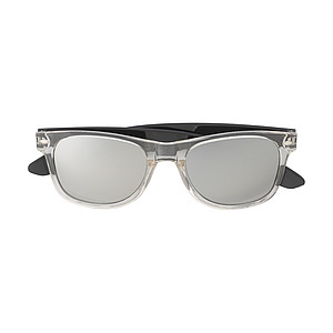 Plastové sluneční brýle s UV400, černé