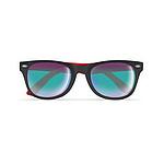 Dvojbarevné sluneční brýle, červená