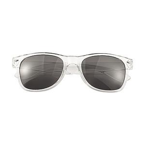 Akrylové sluneční brýle s UV400ochranou, transparentní