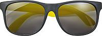 PINTANO Plastové sluneční brýle s UV 400ochranou, žlutá