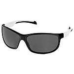 Sluneční brýle černé s barevnými doplňky, bílé