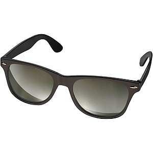 Sluneční brýle s barevnými skly, černé