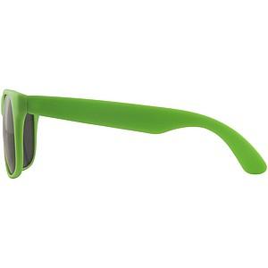Sluneční brýle Retro, fluorescenční zelená