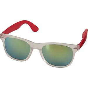 Sluneční brýle SunRay - zrcadlová skla, červená
