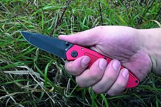 SCHWARZWOLF MATRIX zavírací nůž, červená