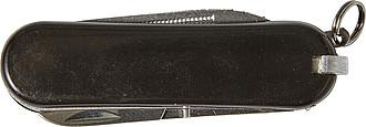 Nerezový kapesní nožík, černý