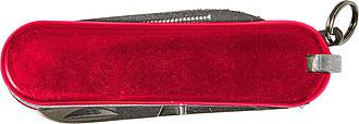 Nerezový kapesní nožík, červený