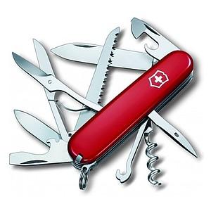 VICTORINOX kapesní nůž HUNTSMAN, 91mm, červená