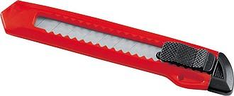 Plastový univerzální nůž, červená