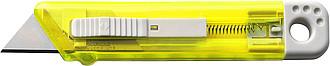 Řezák s bezpečnostním mechanismem, žlutá