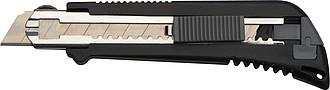 Univerzální nůž, 4 čepele, černá, šedá