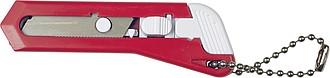 Malý řezací nůž, červený