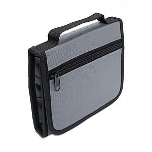 INGENIO 25dílná souprava nářadí v polyesterové tašce, šedá
