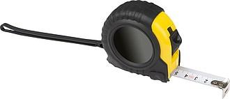 Svinovací metr, černo žlutý, 5m