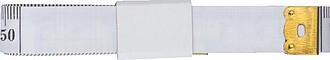 Metr 1,5 m papírovým obvazem,bílá
