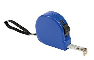 FRIO Svinovací metr s poutkem na zápěstí a klipem na opasek, 3m, modrá