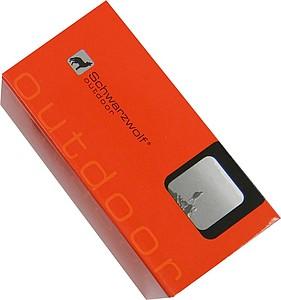SCHWARZWOLF LAKAS dynamo svítilna s USB nabíječkou