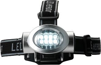 MINERVA Čelovka s 8 LED světly