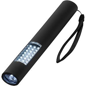 Magnetické pracovní světlo s 28 LED diodami, zn. Stac, černá