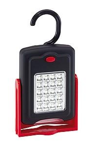 Svítilna s 20 LED na boku a 3 LED vpředu