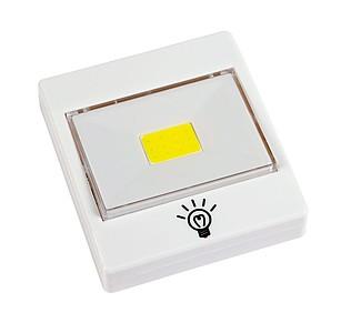 Silné COB-LED světlo s možností připevnění magnetem, na háček nebo přilepením