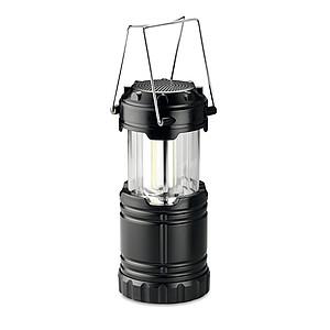 COB svítilna s bezdrátovým reproduktorem, černá
